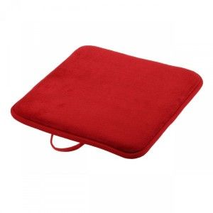 Galette de chaise Japan Rouge