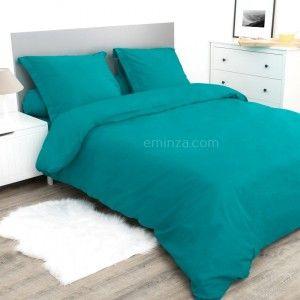 housse couette bleu canard stunning parure de lit bleu beau housse de couette taie et drap en. Black Bedroom Furniture Sets. Home Design Ideas