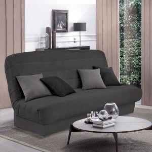 housse de canap 3 places victoria gris housse de canap et clic clac eminza. Black Bedroom Furniture Sets. Home Design Ideas