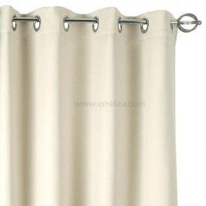 rideau anti bruit 135 x h250 cm chut ecru rideau isolant eminza. Black Bedroom Furniture Sets. Home Design Ideas