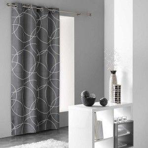 rideau voilage store eminza. Black Bedroom Furniture Sets. Home Design Ideas