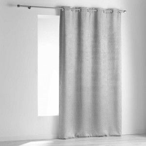 rideau occultant 140 x 240 cm opacia gris anthracite rideau occultant eminza. Black Bedroom Furniture Sets. Home Design Ideas
