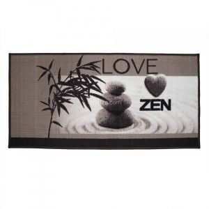 Tapis multi-usage (115 cm) Love Zen Taupe