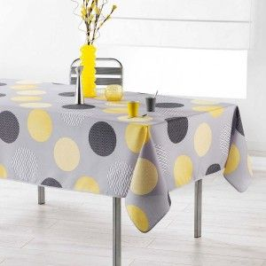 Nappe rectangulaire (L240 cm) Odaly Jaune