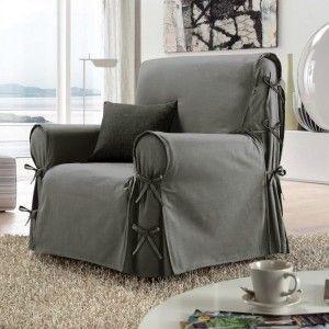 Housse de chaise et fauteuil - Déco textile - Eminza