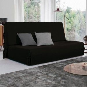 housse de clic clac dozer noir et blanc housse de clic clac bz eminza. Black Bedroom Furniture Sets. Home Design Ideas