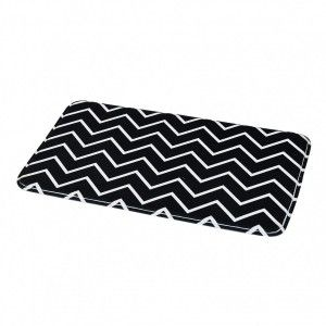 Tapis de bain Black and White Noir
