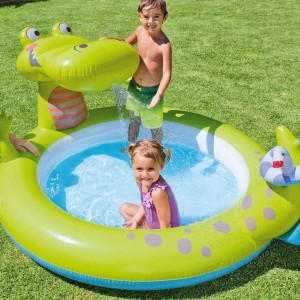 Piscine Fontaine Alligator - Intex
