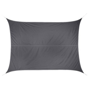Voile d'ombrage Rectangulaire (3 x 4 m) Anori - Anthracite