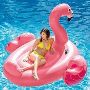 Drijvend eiland Flamingo - Intex
