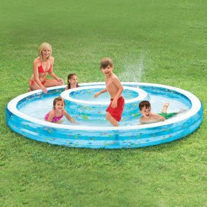 Piscine double Fontaine - Intex