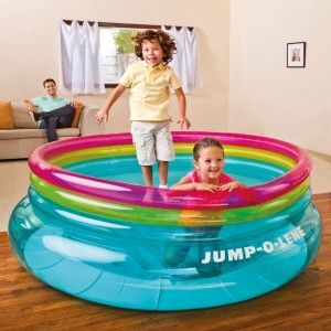 Trampolín hinchable - Intex