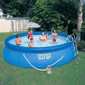 Piscina hinchable Easy Set Ø 4,57 x alto 1,07 m - Intex