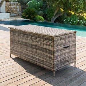 coffre de rangement petit mobilier de jardin eminza. Black Bedroom Furniture Sets. Home Design Ideas