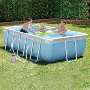 Piscine tubulaire rectangulaire Prism L4,88 x l2,44 x H1,07 - Intex