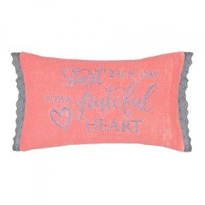 Coussin rectangulaire Blessed Rose