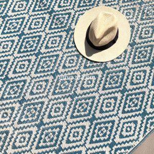 Alfombra de exterior (120 x 180 cm) Aquatika Azul