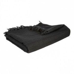 housse de coussin brod e paillettes noir coussin et. Black Bedroom Furniture Sets. Home Design Ideas