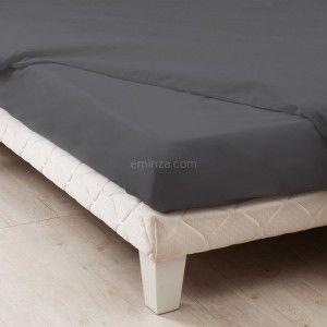 linge de lit 120 x 190 cm 90 x 190 cm 2 eminza. Black Bedroom Furniture Sets. Home Design Ideas