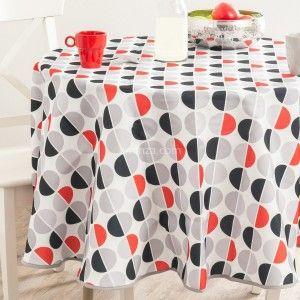 nappe de table ovale linge de table eminza. Black Bedroom Furniture Sets. Home Design Ideas