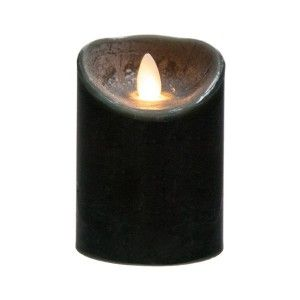 Candela Rustique LED Nero 205 gr