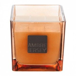 Bougie parfumée Anna Ambre Jersey 550G orange
