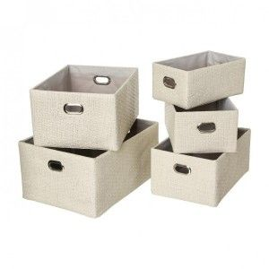 Lot de 5 paniers Balto Lin
