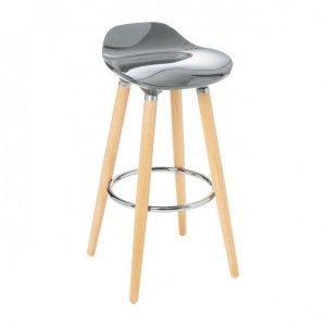 Tabouret de bar Filel Gris