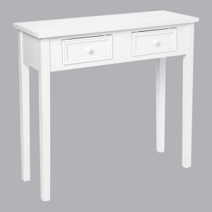 Console Charme Blanche