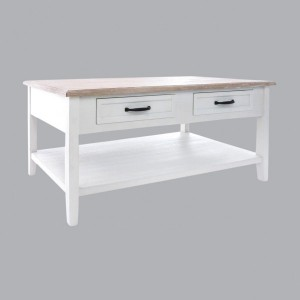 Table basse Damian Blanc
