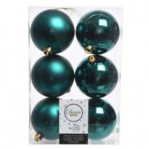 lot de 30 boules de no l assorties alpine vert menthe. Black Bedroom Furniture Sets. Home Design Ideas