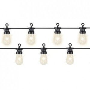 Ghirlanda luminosa Lampadia Bianco caldo 20 LED Connect 24 V