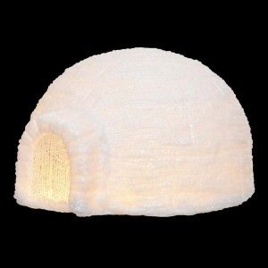 Igloo lumineux Navarino Blanc chaud 30 LED