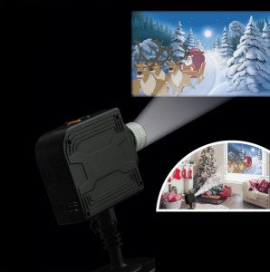 Projector 12 films Veelkleurig 6 LED