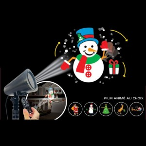 Projecteur laser Films animés Multicouleur 4 LED