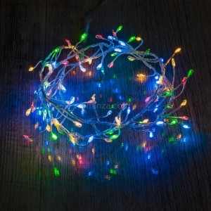 Guirlande lumineuse 1 m Multicolore 100 LED