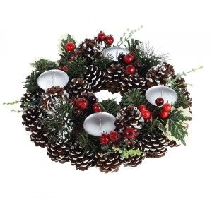Centre de table Christmas rond