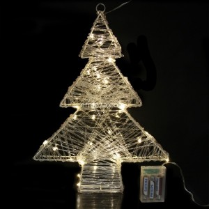 Árbol luminoso Blanco cálido 40 LED