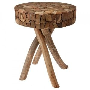 Table Freda Marron naturel
