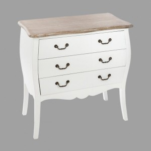 Commode Chrysa Blanche