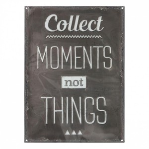 Sticker Collect moments Noir