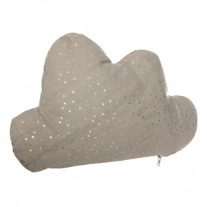 Coussin (45 cm) Nuage Taupe