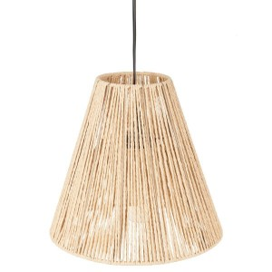 Suspension Corde Ethnik Beige