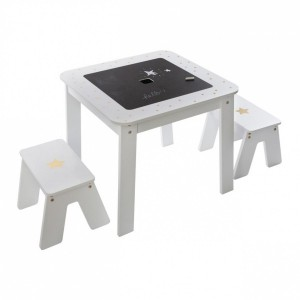 Table et tabourets Bac Or