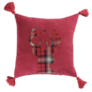 Coussin (40 cm) Scottish Rouge