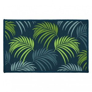 Tapis multi-usage (80 cm) Blue Vegetal Bleu