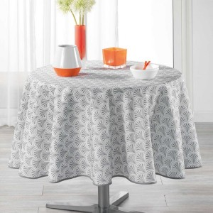 Nappe ronde (D180 cm) Victory Blanche