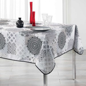Mantel rectangular (L240 cm) Flamenco Gris