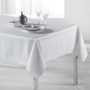 Mantel rectangular  (L240 cm) Palacio Blanco