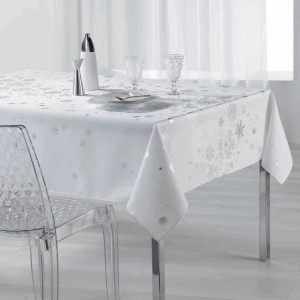 Nappe rectangulaire (L240 cm) Constellation Blanc